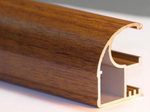 Ventanas con perfil en aluminio tipo madera