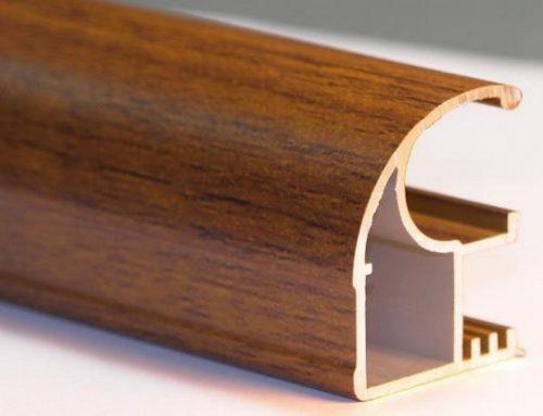 Nuevas ventanas de aluminio tipo madera